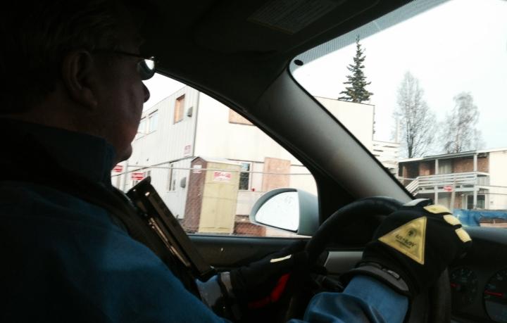 Bob Lincoln patrolling Mountain View in April, 2014.