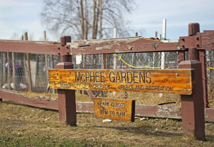 There are 50 plots at the municipal McPhee Gardens