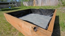 Raised beds are easy to build -- and common in neighborhood backyards.