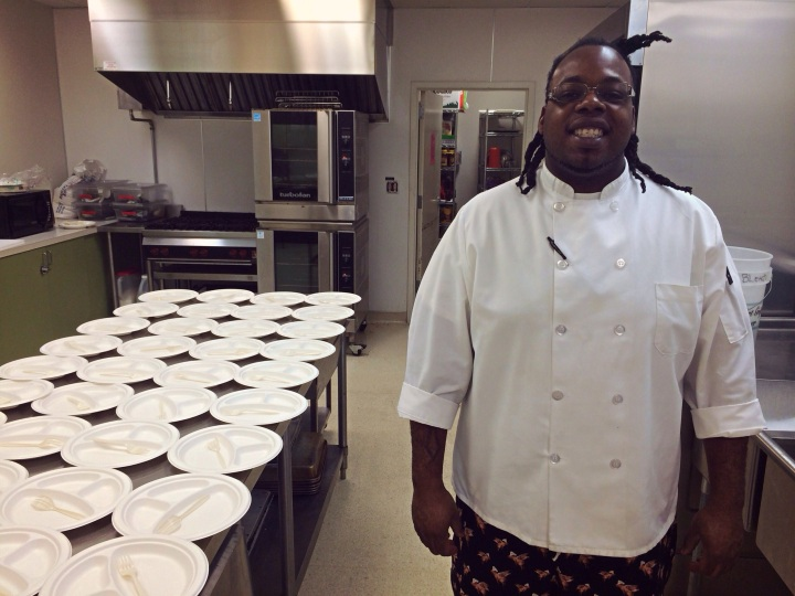 Chris Knight, Children's Lunchbox chef at the Mountain View Boys & Girls Club.