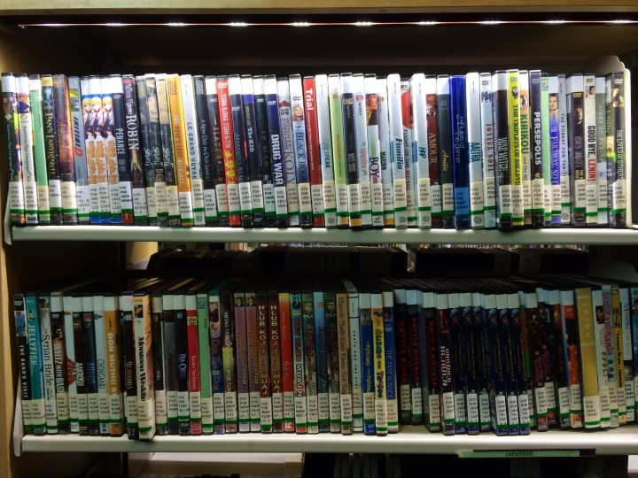 The Mountain View Library has the largest circulation of foreign-language films in Anchorage, according to branch manager Virginia McClure.
