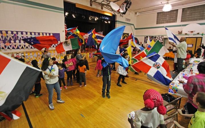 Flag parade 2