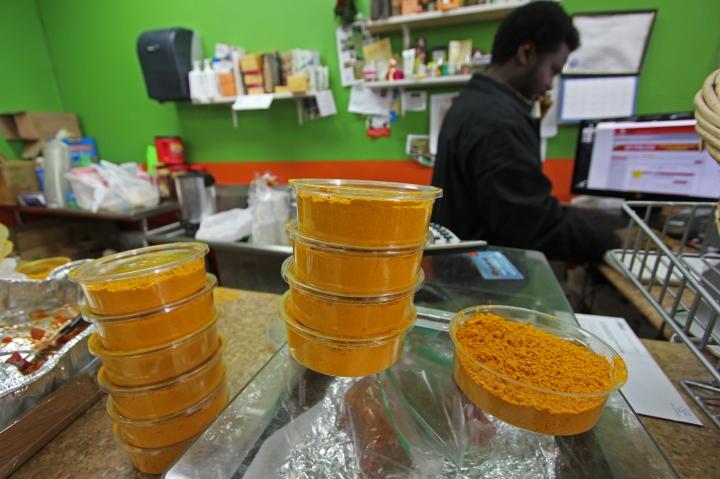 Inside Juba Halal Market
