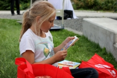 thread's annual book party in the park