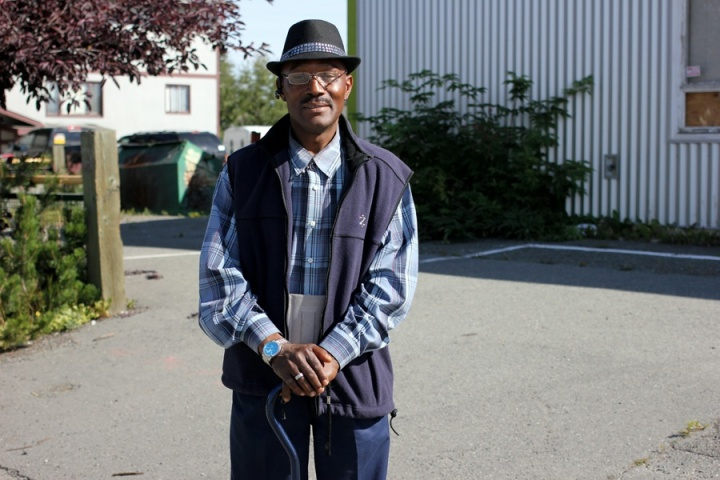 Charles Williams, who moved from Jamaica to Anchorage about a year ago: On Thursday, he went to a medical appointment in Muldoon, came to Mountain View to catch a ride home and ended up on the street corner, talking to a group of people he found meeting there. Life is interesting like that, he said.